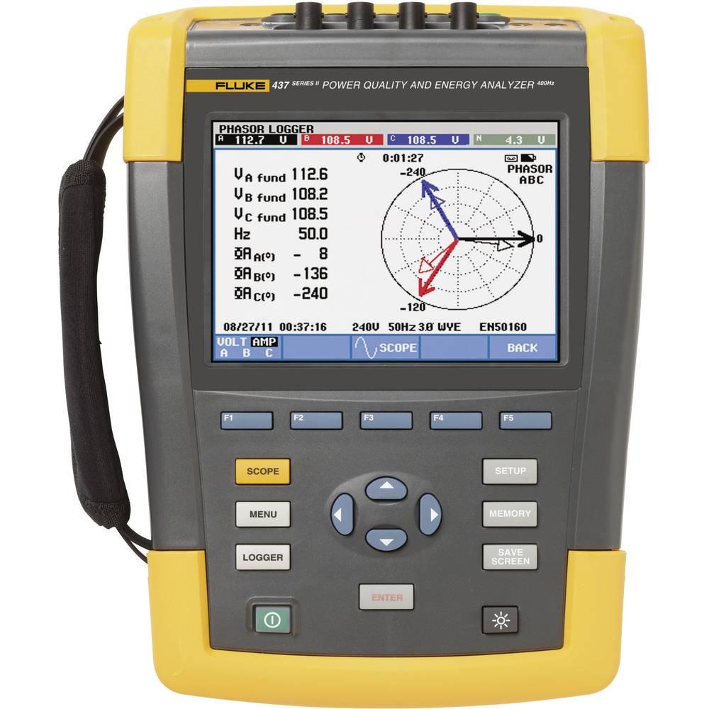 Fluke 437-II/BASIC omrežni analizator 4116719 CAT IV 600 V/CAT III 1000 V