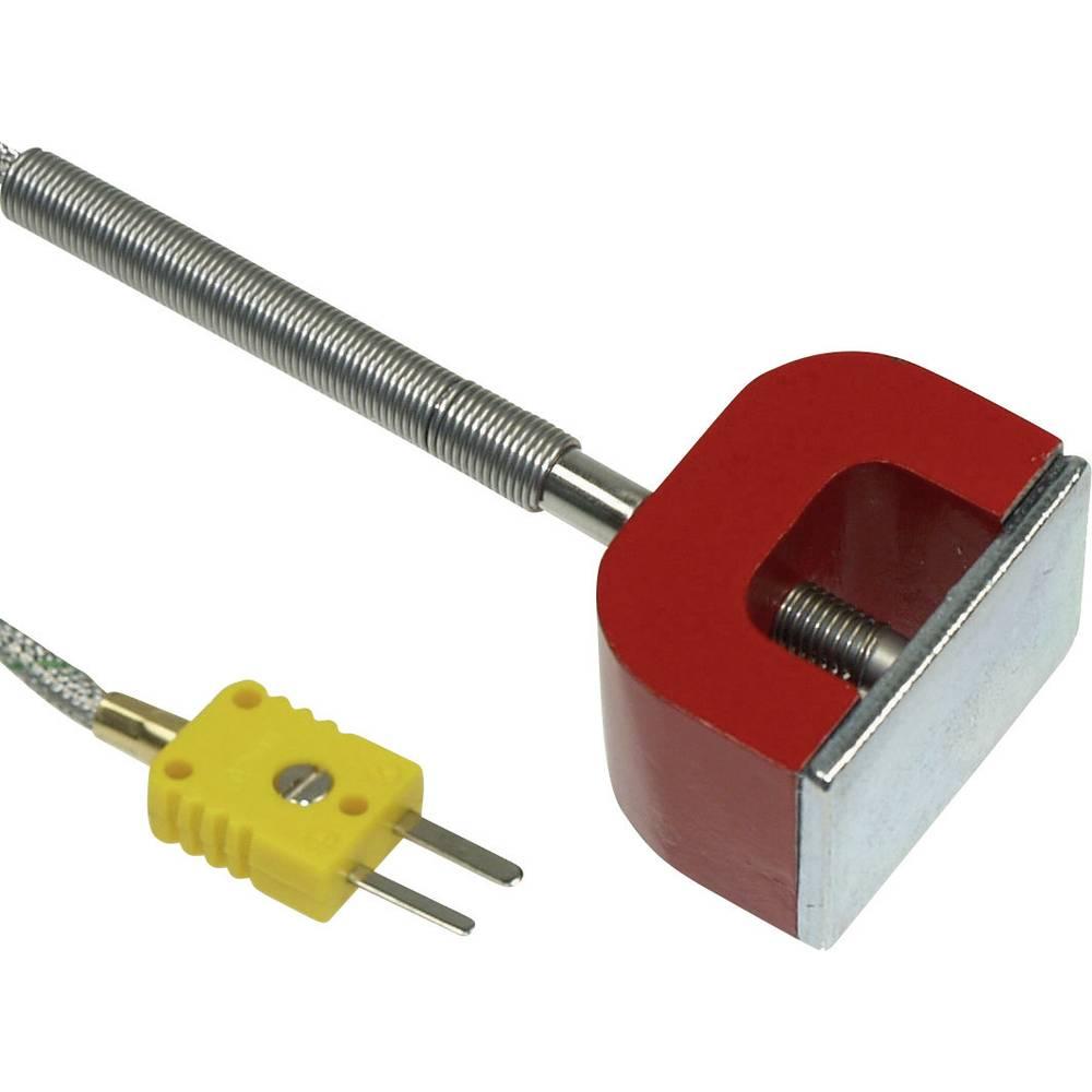 Površinsko tipalo B+B Thermo-Technik OF magnetno tipalo 1xK -30 do 450 °C K kalibracija narejena po DAkkS