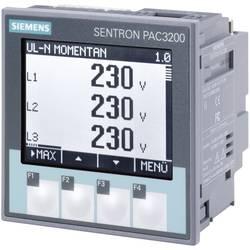 Siemens SENTRON PAC3200 Multifunktionsmätare Max. 3 x 690/400 V/AC