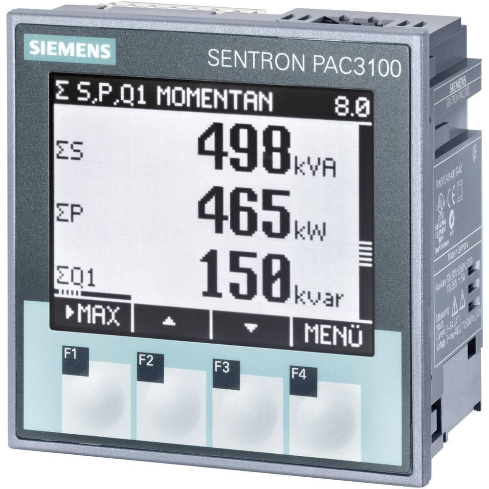 Siemens SENTRON PAC3100 Multifunktionsmätare Max. 3 x 480/277 V/AC