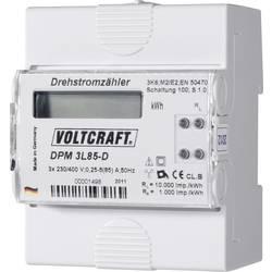 Števec električnega toka digitalni 85 A MID-odobritev: Ne VOLTCRAFT DPM 3L85-D