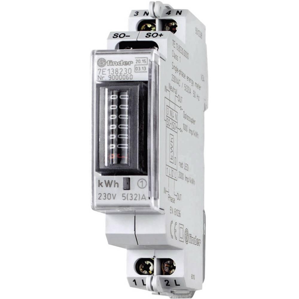Brojilo izmjenične struje, mehaničko 7E.13.8.230.0010 Finder 32 A MID sukladnost: da