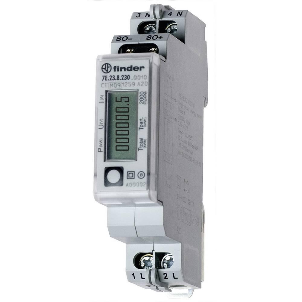 Brojilo izmjenične struje, digitalno 7E.23.8.230.0010 Finder 32 A MID sukladnost: da