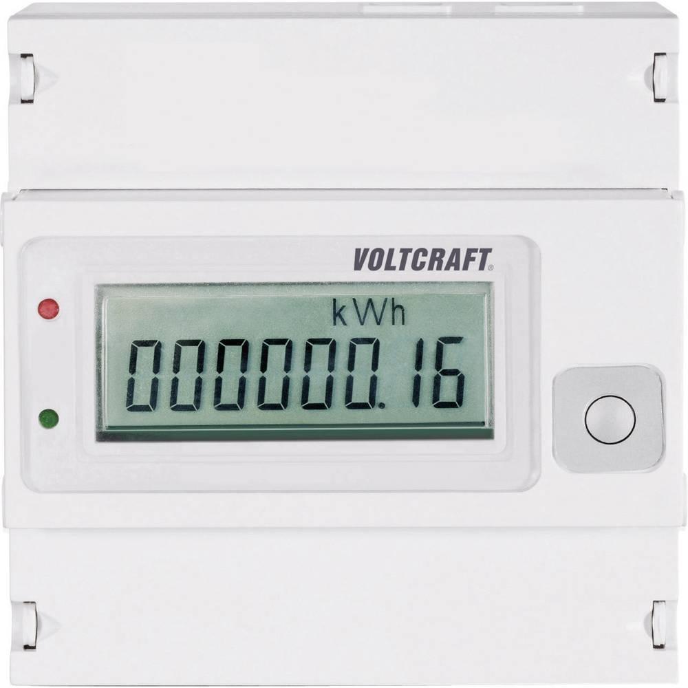 Števec električnega toka digitalni 80 A MID-odobritev: Ne VOLTCRAFT VSM-102