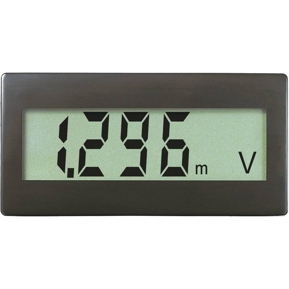 VOLTCRAFT DVM330G digitalni vgradni merilnik, panel-meter, vgradne mere 68 x 33 mm