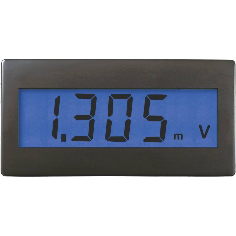 VOLTCRAFT DVM230B digitalni vgradni merilnik, panel-meter, vgradne mere 45 x 22 mm