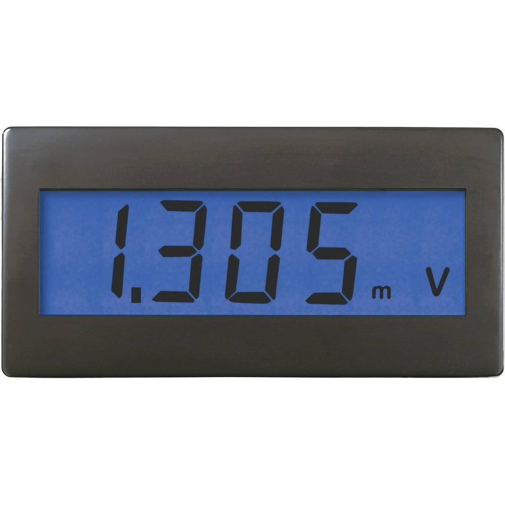 VOLTCRAFT DVM330B digitalni vgradni merilnik, panel-meter, vgradne mere 68 x 33 mm