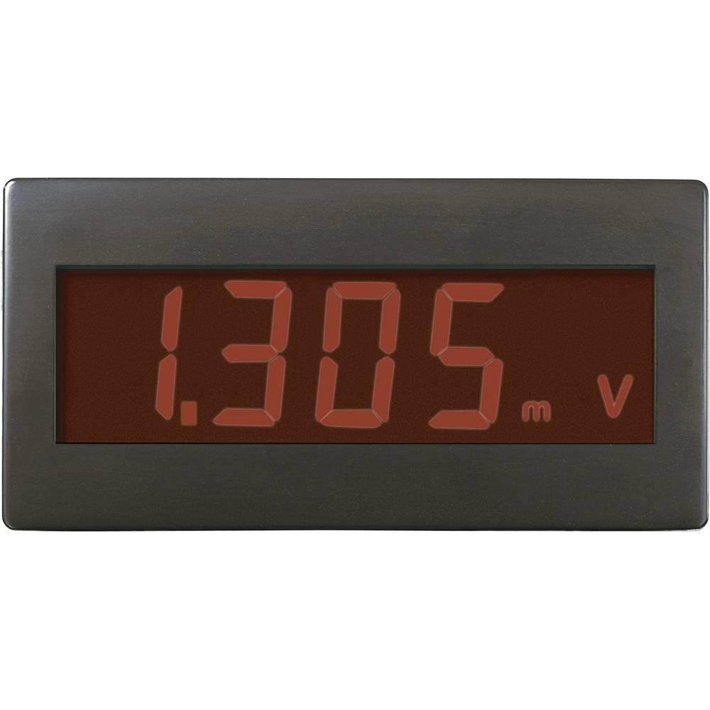 Digital panelmätare VOLTCRAFT DVM230RN ±199,9 mV (valfritt utbyggbar genom koppling av motstånd)