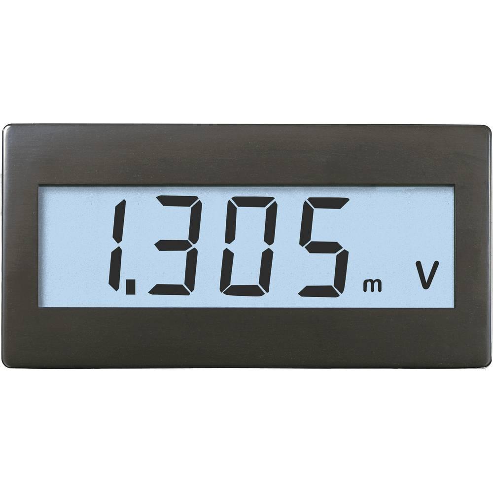 VOLTCRAFT DVM230W digitalni vgradni merilnik, panel-meter, vgradne mere 45 x 22 mm