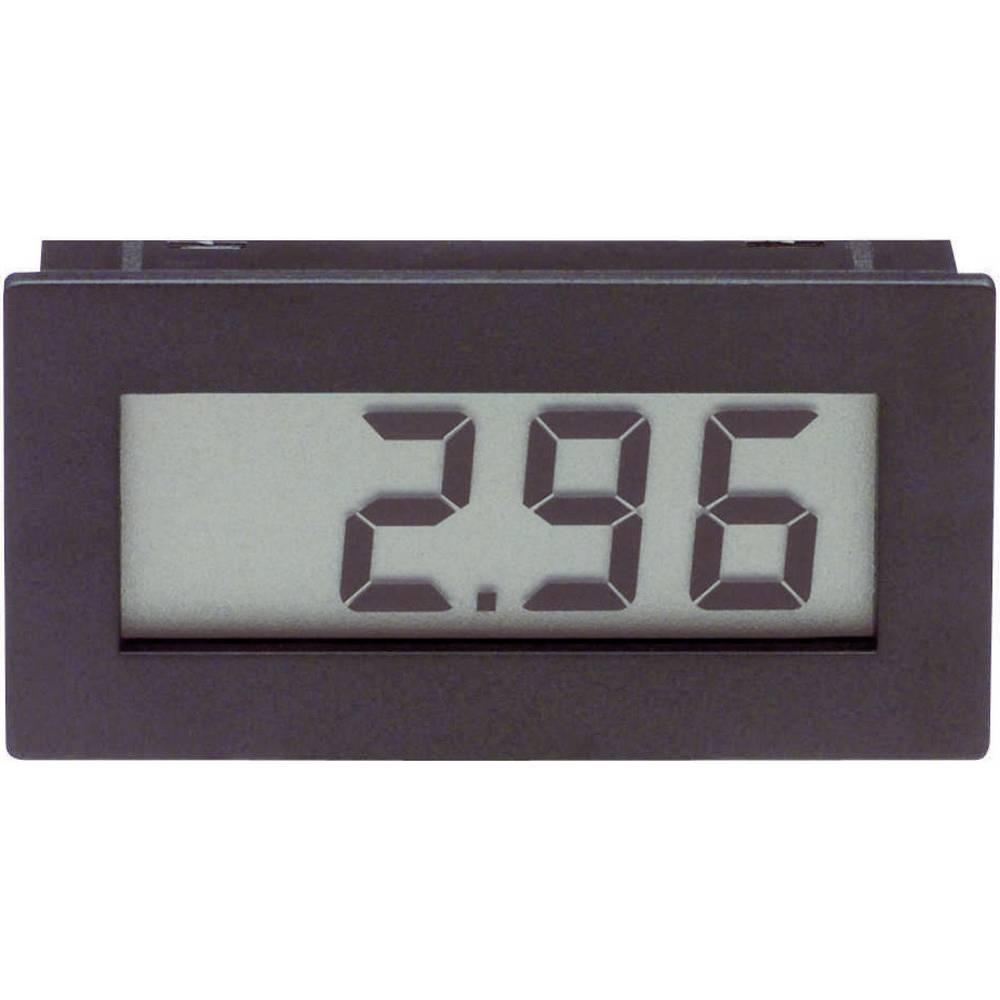 VOLTCRAFT DVM210 digitalni vgradni merilnik, panel-meter, vgradne mere 45.5 x 22 mm