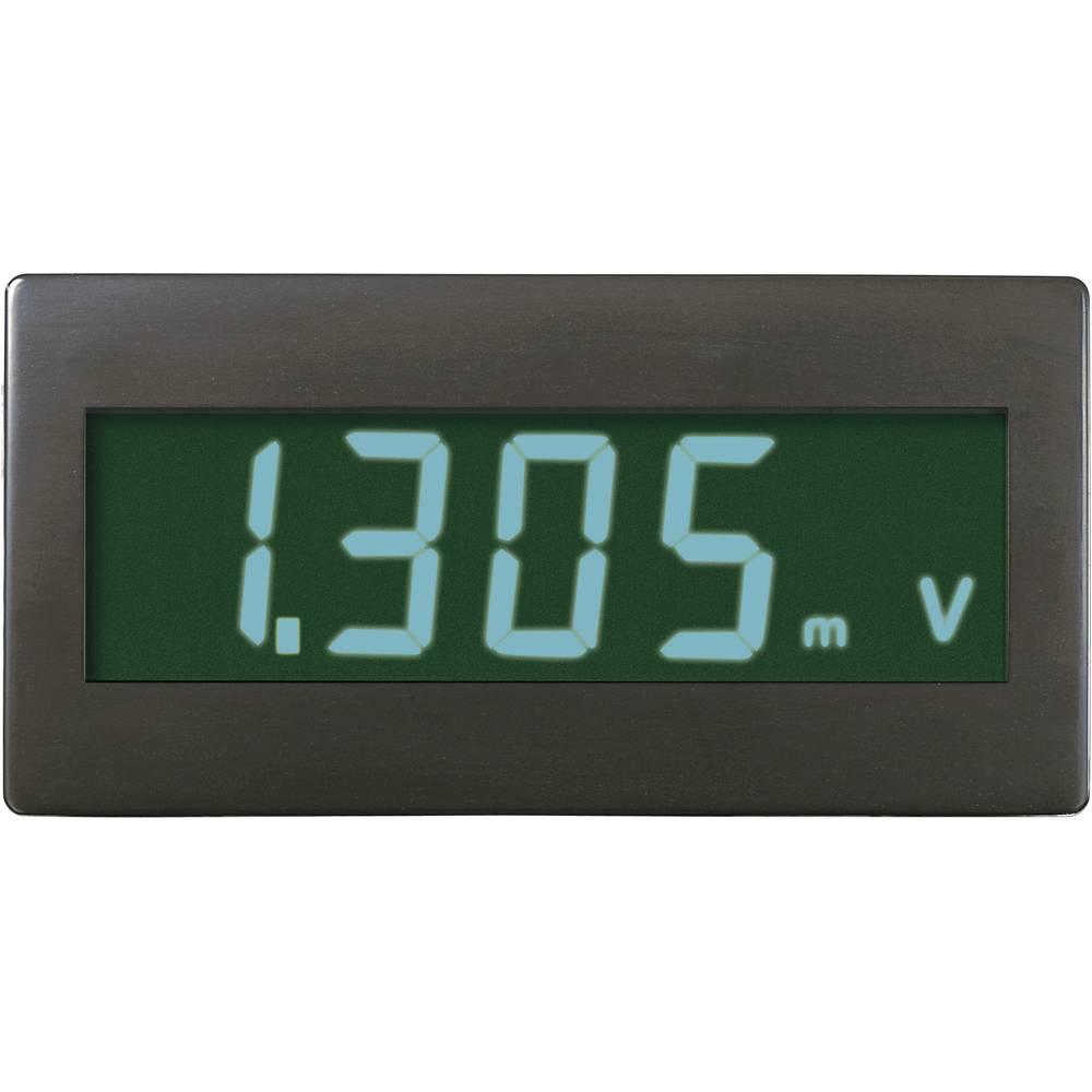 Digital panelmätare VOLTCRAFT DVM330GN ±199,9 mV (valfritt utbyggbar genom koppling av motstånd)