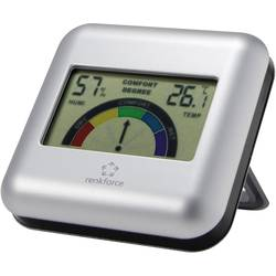 Termo-/Hygrometer Renkforce Silver