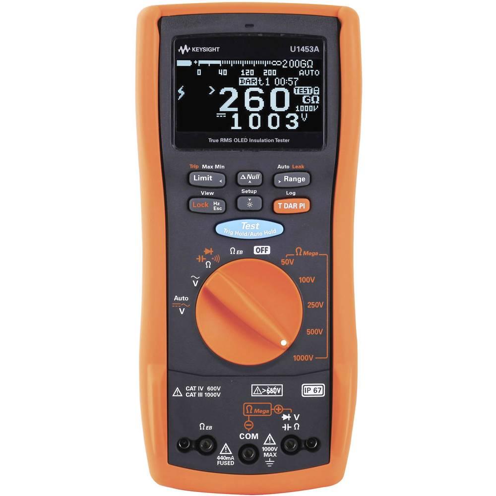 Keysight Technologies U1453A mjerač izolacije, 260 G CAT III 1000 V / CAT IV 600 V kalibriran prema DAkkS