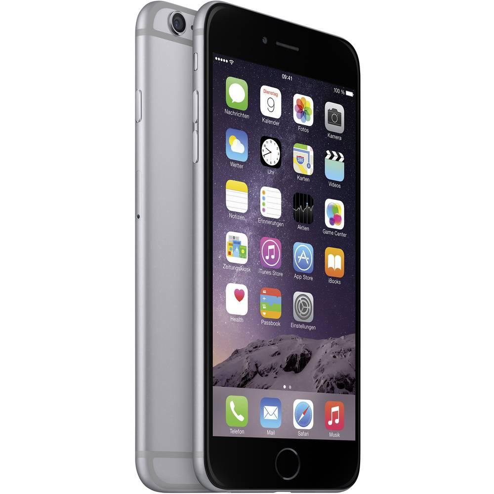 Apple iPhone 6 Plus 128 GB Vesoljsko siva iOS 8 8 Mio. Pikslov