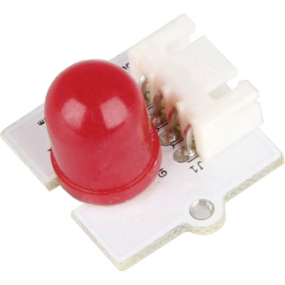 Mini razširitveni modul z rdečo LED za kartični računalnik Raspberry Pi®, 10 mm, LK-Led10-RED