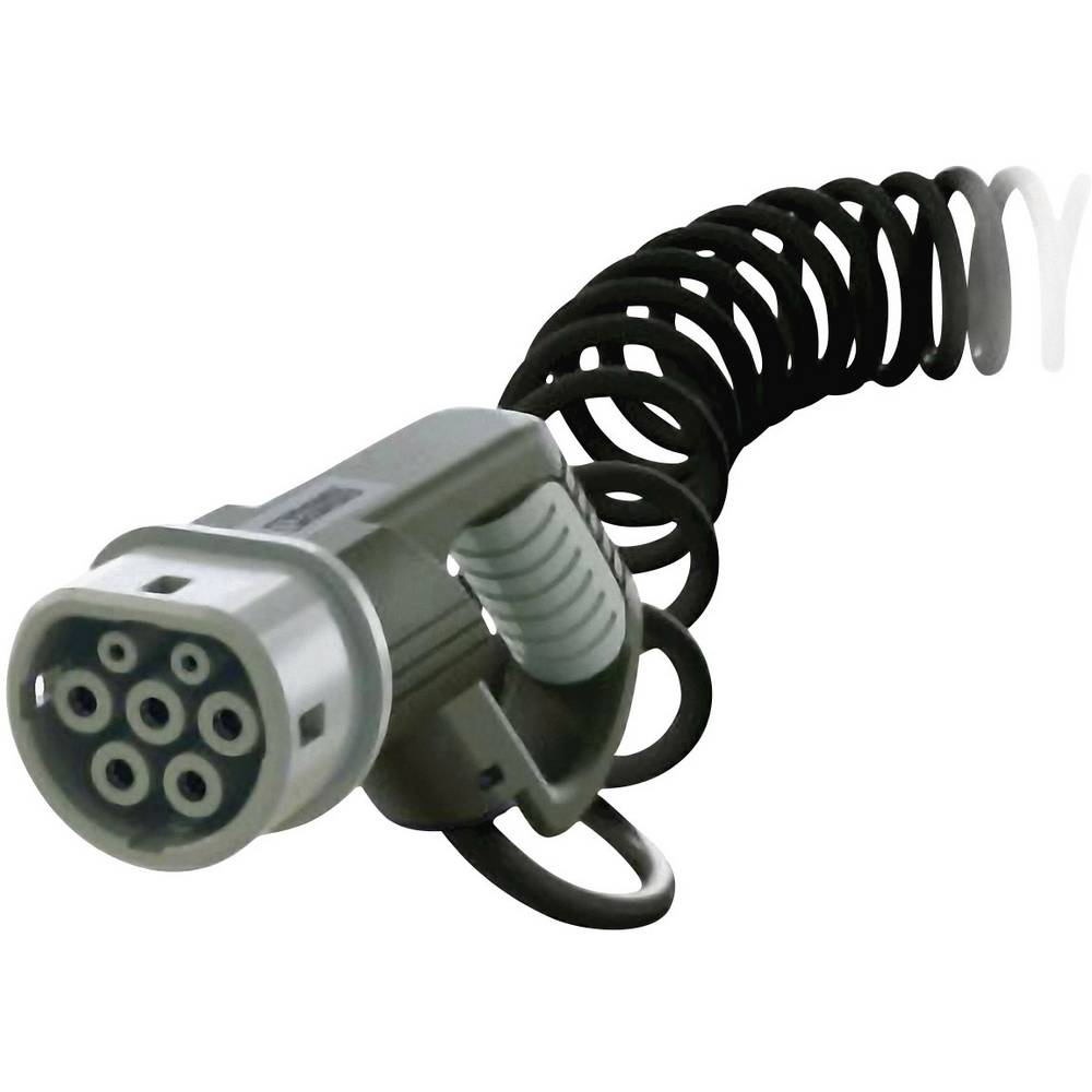 eMobility polnilni kabel Phoenix Contact 1410088 [ tip 2 - odprti konec] 4 m spiralni kabel