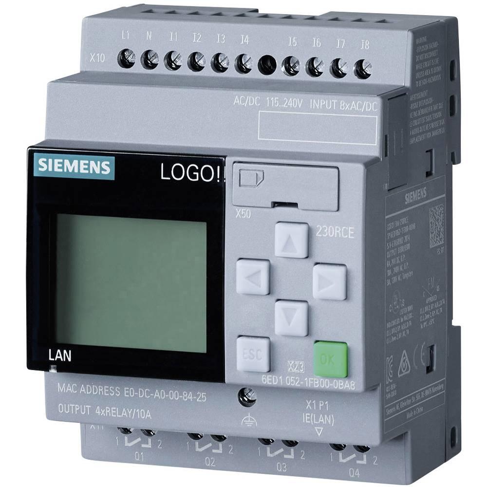 SPS krmilni modul Siemens LOGO! 230 RCE 0BA8 6ED1052-1FB00-0BA8 115 V/AC, 115 V/DC, 230 V/AC, 230 V/DC