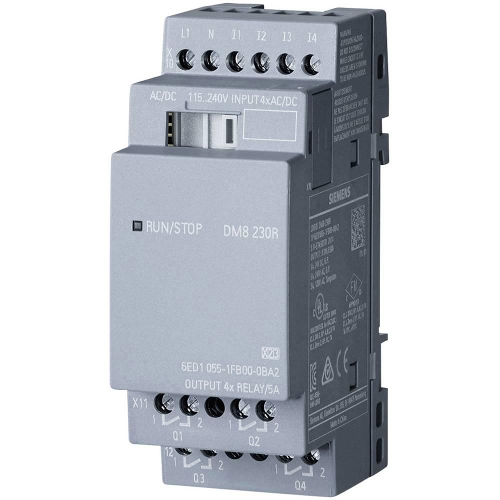 SPS razširitveni modul Siemens LOGO! DM8 230R 0BA2 6ED1055-1FB00-0BA2 115 V/AC, 230 V/AC, 115 V/DC, 230 V/DC