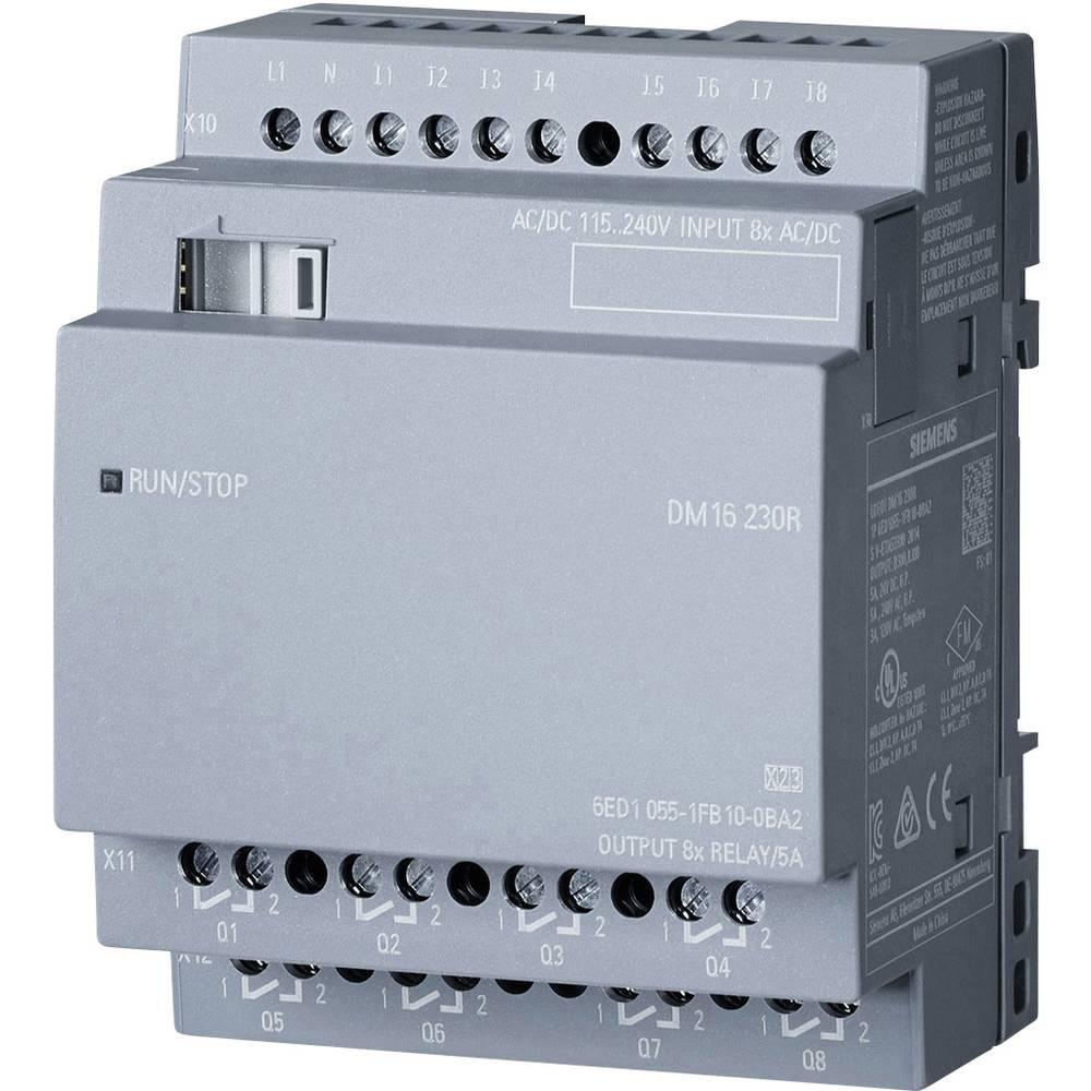 SPS razširitveni modul Siemens LOGO! DM16 230R 0BA2 6ED1055-1FB10-0BA2 115 V/AC, 230 V/AC, 115 V/DC, 230 V/DC