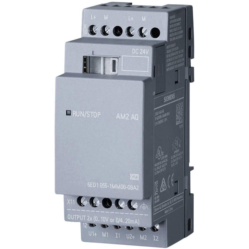 SPS razširitveni modul Siemens LOGO! AM2 AQ 0BA2 6ED1055-1MM00-0BA2 24 V/DC
