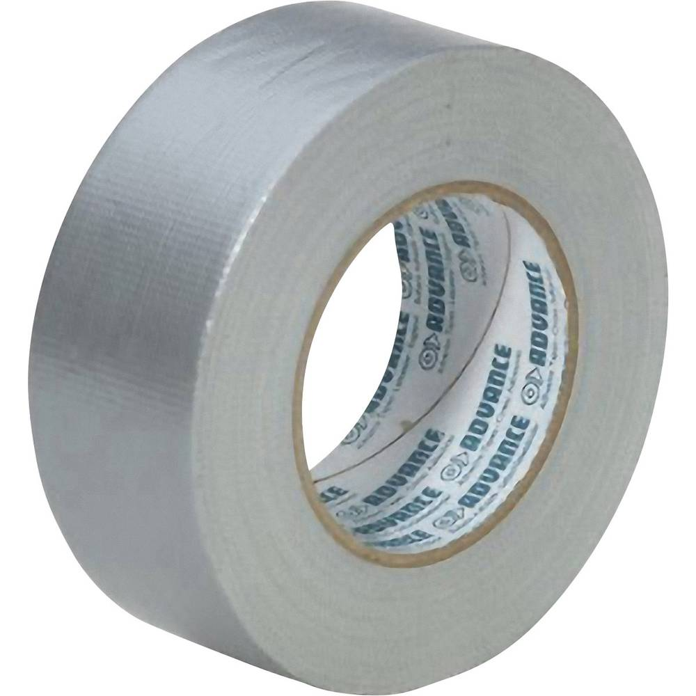 Lepilni trak Advance Tapes AT 170 - Gaffa, srebrne barve, 50 mm x 50 m