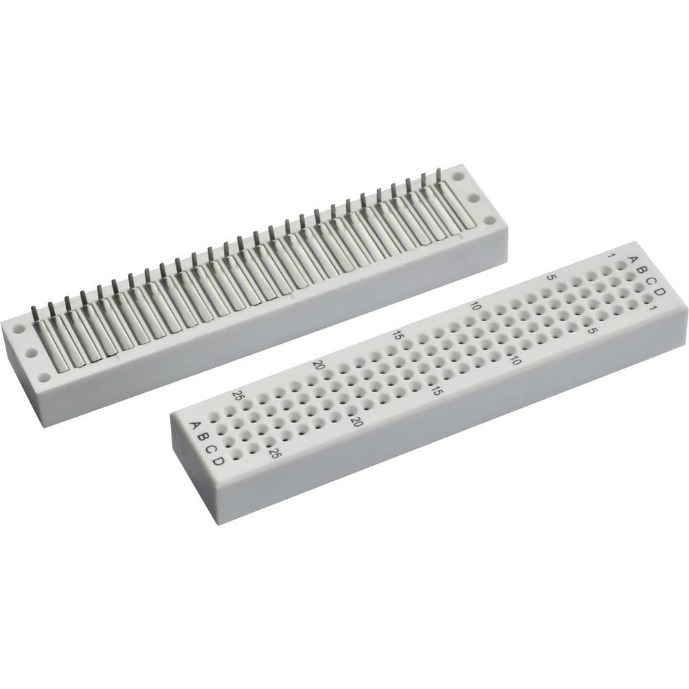Breadboard Conrad Components 0165-4014-2-35010 (L x B x H) 76.2 x 16 x 8.4 mm