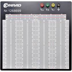 Preizkusna ploščica, skupno št. polov: 3600 (D x Š x V) 186.2 x 228.8 x 8.4 mm TRU Components 0165-40-1-32044 1 kos