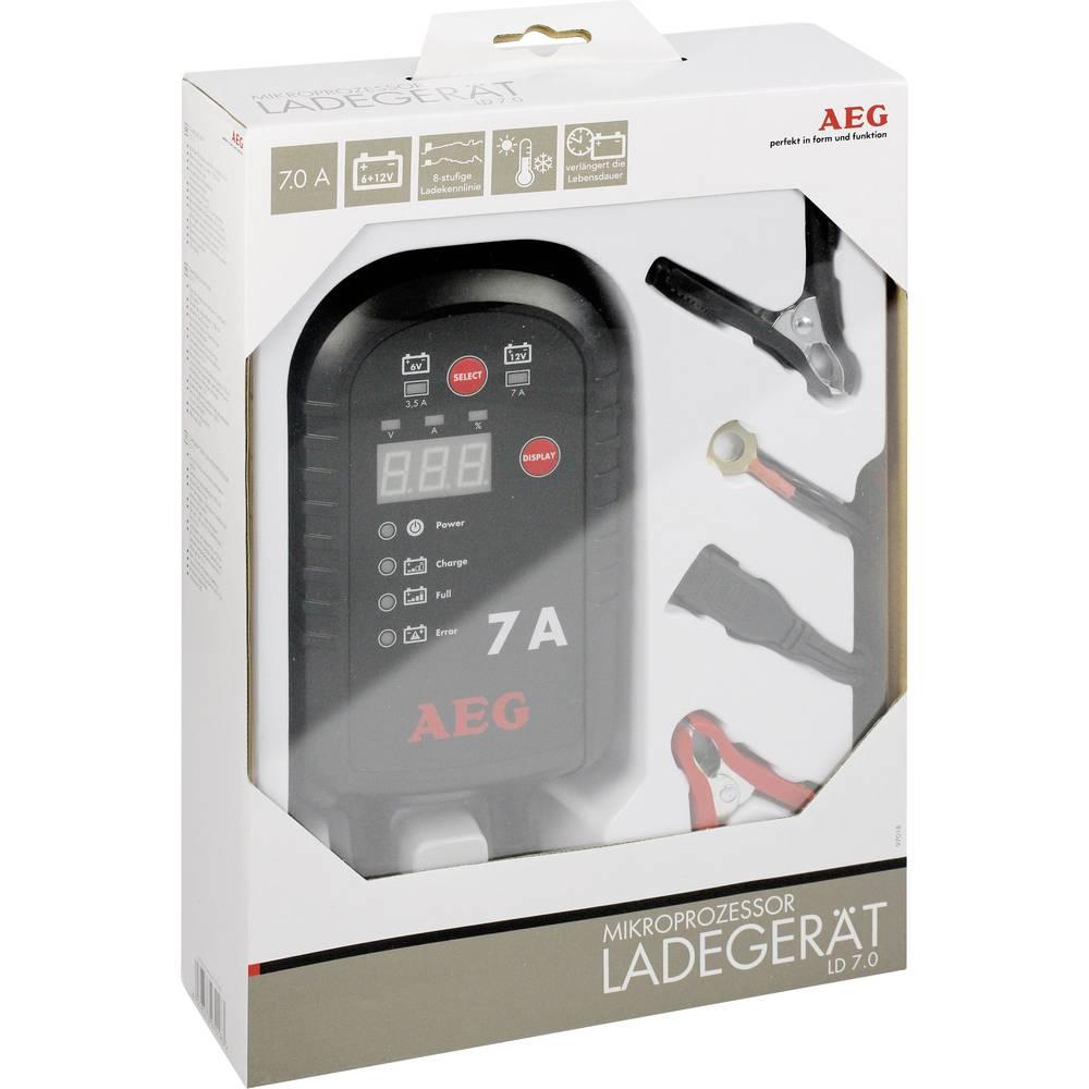 Automatski punjač LD 7.0 AEG Mikroprocesorski punjač