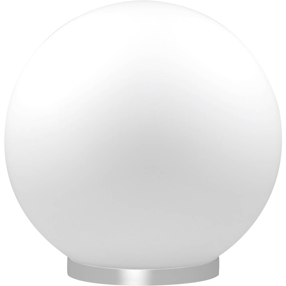 Namizna LED-svetilka Globe, Müller Licht, 5,5 W, RGB, mlečno steklo