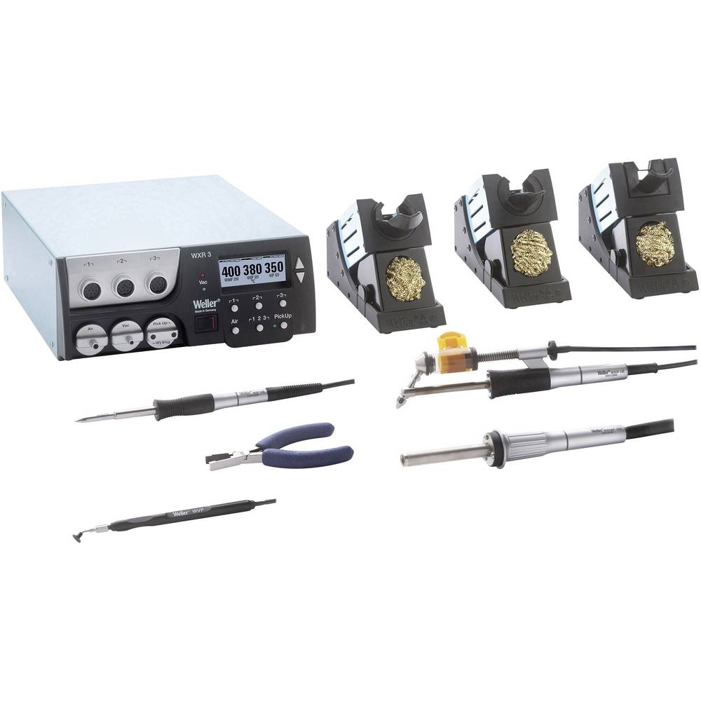 Stanica za lemljenje/odlemljivanje, opskrbna jedinica Weller WXR 3031 Reworkstation +100 do +450 °C