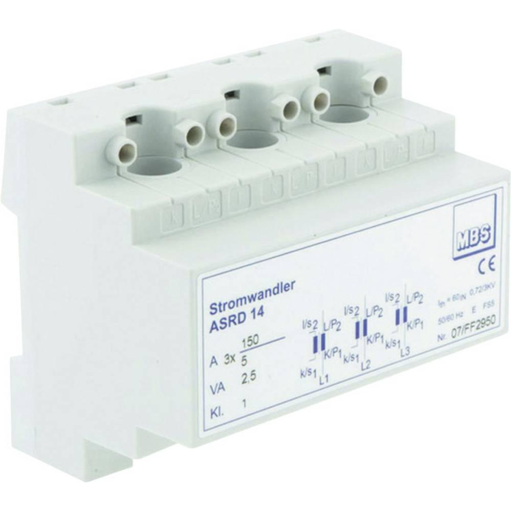 MBS ASRD 14 3X150/5A 3,75VA Kl.1 Tokovni pretvornik, primarni tok:3x 150 A sekundarni tok:5 A