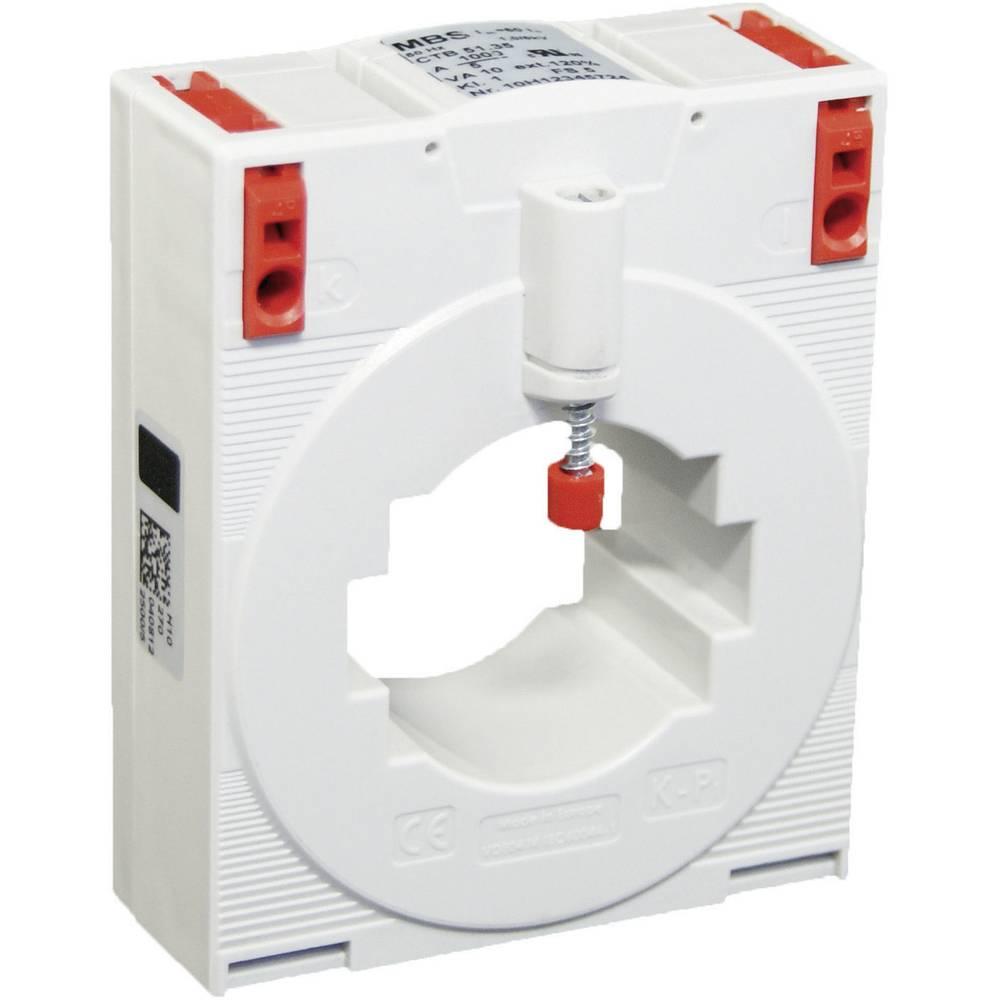 MBS CTB 51.35 600/5A 5VA Kl.1 Tokovni pretvornik, primarni tok:600 A sekundarni tok:5 A premer vhoda kabla :44 mm