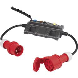 Mjerni adapter [ CEE utikač - CEE ženski konektor] VOLTCRAFT DLA-3L 32