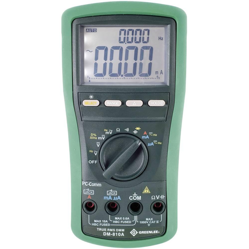 Ročni multimeter, digitalni Greenlee DM-810A kalibracija narejena po: delovnih standardih, CAT IV 1000 V število znakov na zaslo