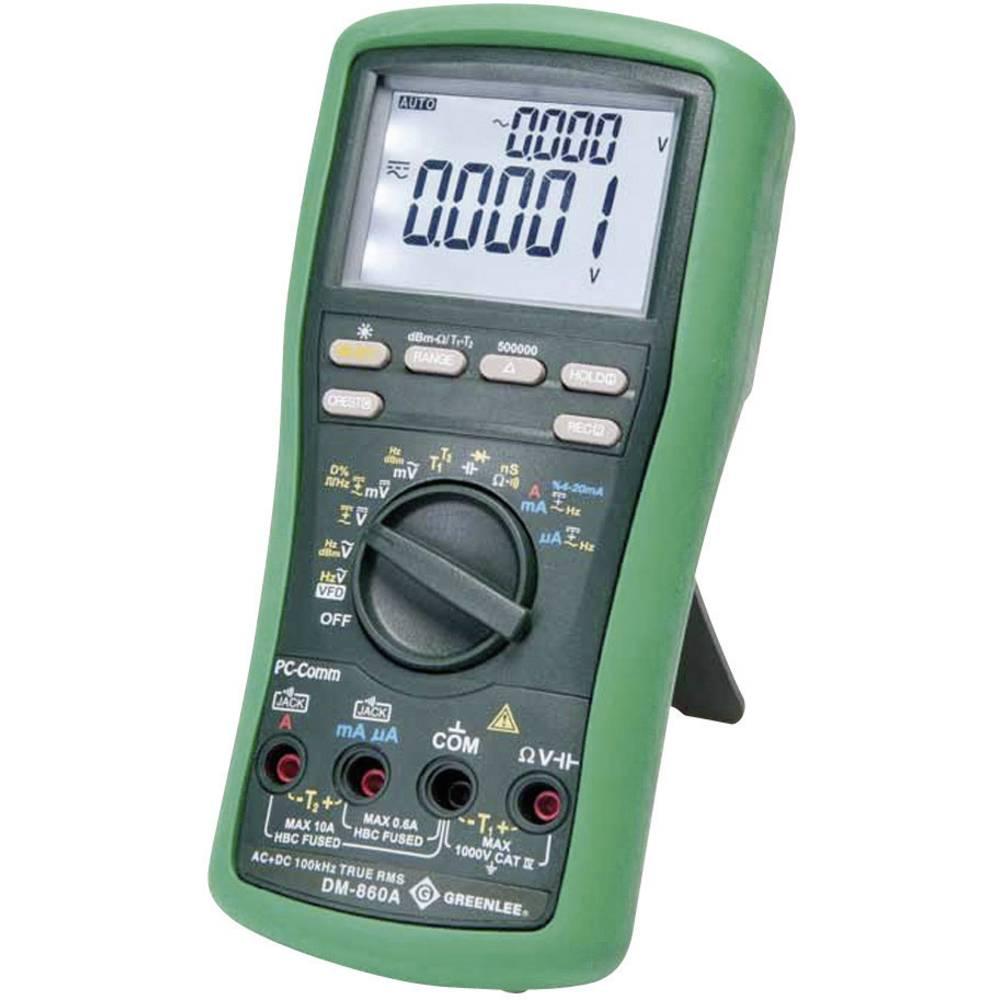 Ročni multimeter, digitalni Greenlee DM-860A kalibracija narejena po: delovnih standardih, CAT IV 1000 V število znakov na zaslo