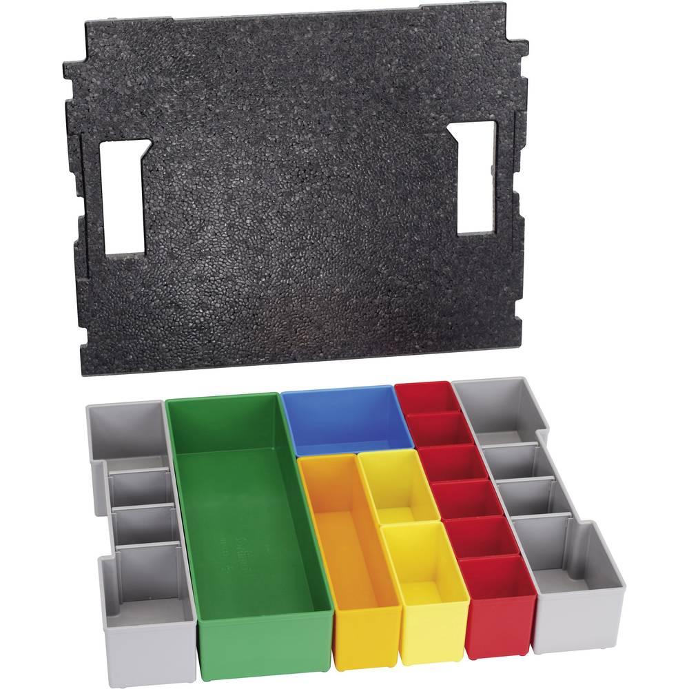 Vložek za sortirni kovček Bosch št. predalov: 13 nastavljivo pregrajevanje