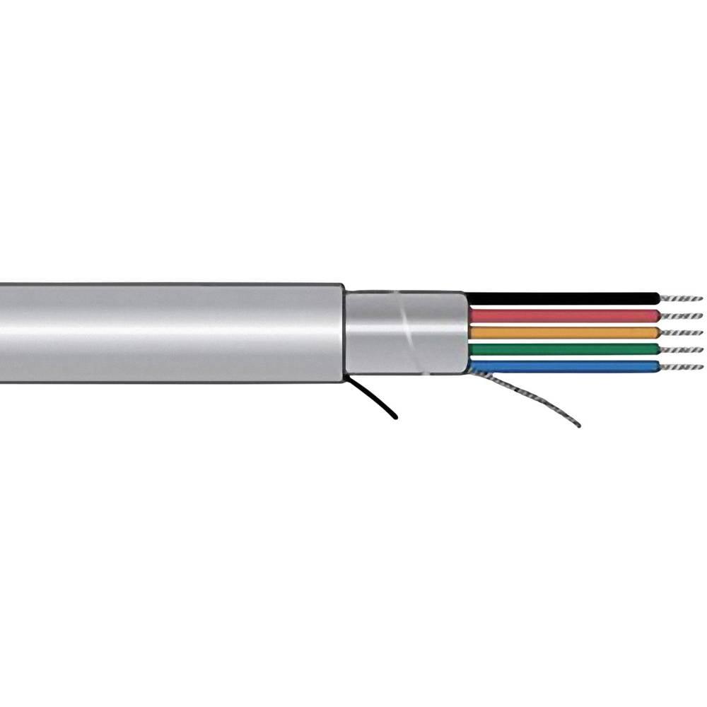 Krmilni kabel Xtra-Guard® 1 4 x 0.23 mm Schiefer-sive barve AlphaWire 5094C SL005 meterski