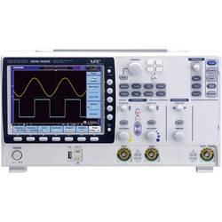 Kal. DAkkS Digitalni osciloskop GW Instek GDS-3252 150 MHz 2-kanalni 2.5 GSa/s 25 kpts 8 Bit kalibracija narejena po DAkkS digit