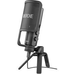 USB-studiomikrofon RODE Microphones NT USB Sladd inkl. kabel, Stativ