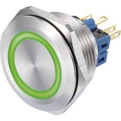 Pritisno stikalo 250 V/AC 3 A 1 x vklop/(vklop) TRU Components GQ30-11E/G/12V IP65 tipkalno 1 kos