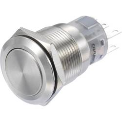 Pritisno stikalo 250 V/AC 3 A 2 x vklop/(vklop) TRU Components LAS1-AGQ-22/S IP65 tipkalno 1 kos