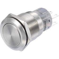 Pritisno stikalo 250 V/AC 3 A 2 x vklop/vklop TRU Components LAS1-AGQ-22Z/S IP65 zaskočno 1 kos