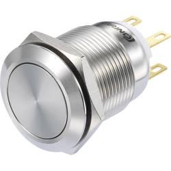Pritisno stikalo 250 V/AC 3 A 1 x vklop/(vklop) TRU Components LAS1-GQ-11/S IP65 tipkalno 1 kos