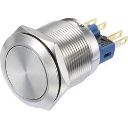 Pritisno stikalo 250 V/AC 3 A 1 x vklop/vklop TRU Components GQ22-11Z/S IP65 zaskočno 1 kos
