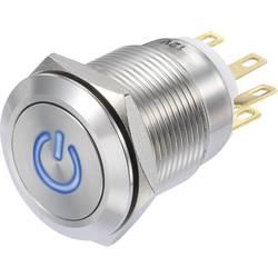 Pritisna tipka 250 V/AC 3 A 1 x vklop/(vklop) TRU Components LAS1-GQF-11/B/12V IP65 tipkalno 1 kos