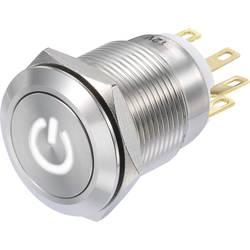 Pritisna tipka 250 V/AC 3 A 1 x vklop/(vklop) TRU Components LAS1-GQF-11/W/12V IP65 tipkalno 1 kos