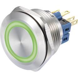 Pritisna tipka 250 V/AC 3 A 1 x vklop/(vklop) TRU Components GQ28-11E/G/12V IP65 tipkalno 1 kos