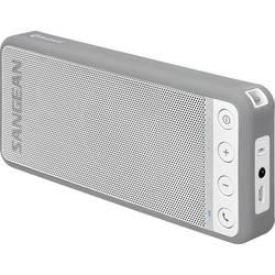 Bluetooth-högtalare Sangean BluTab Högtalartelefonfunktion, NFC Vit, Grå