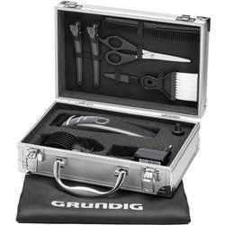 Aparat za striženje las in brade Grundig MC3342 pralni, črna (svetleča), srebrna
