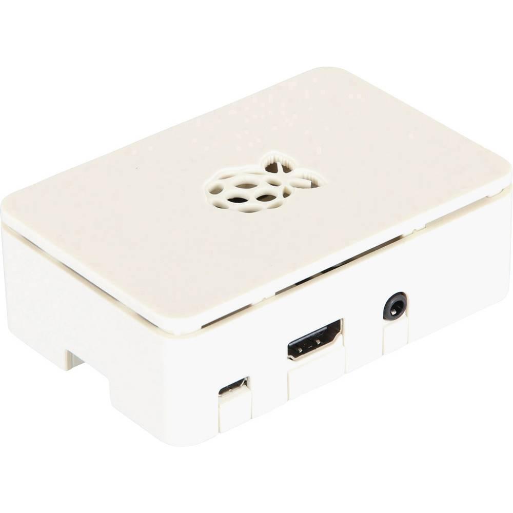 Plastično ohišje za kartični računalnik Raspberry Pi® B+, bele barve, RB-Case+02W